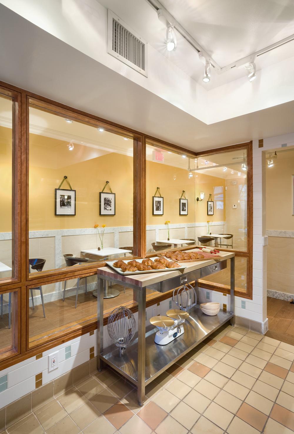Tobin Parnes Design. Rheon Cafe. NYC. Hospitality Design. Restaurant. Cafe. Bakery.