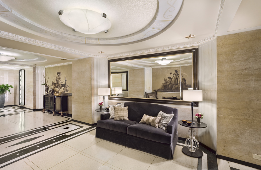 737 Park Avenue. Tobin Parnes Design. New York, NY. Historic Preservation. Lobby.