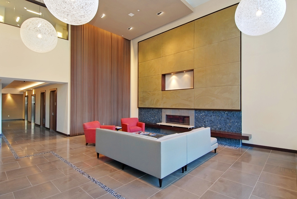 500 4th Avenue. Tobin Parnes Design. New York, NY. Residential. Lobby.
