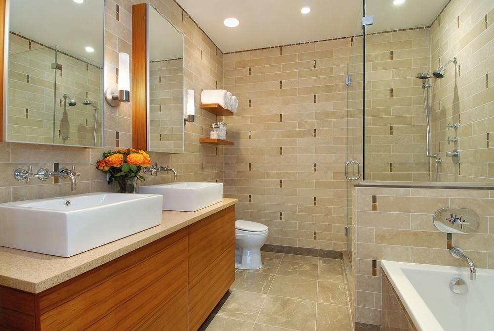 500 4th Avenue. Tobin Parnes Design. New York, NY. Residential. Bathroom.