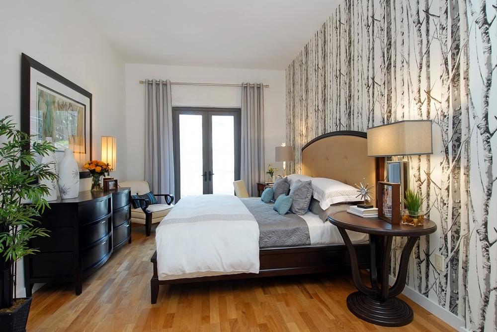 500 4th Avenue. Tobin Parnes Design. New York, NY. Residential. Bedroom.