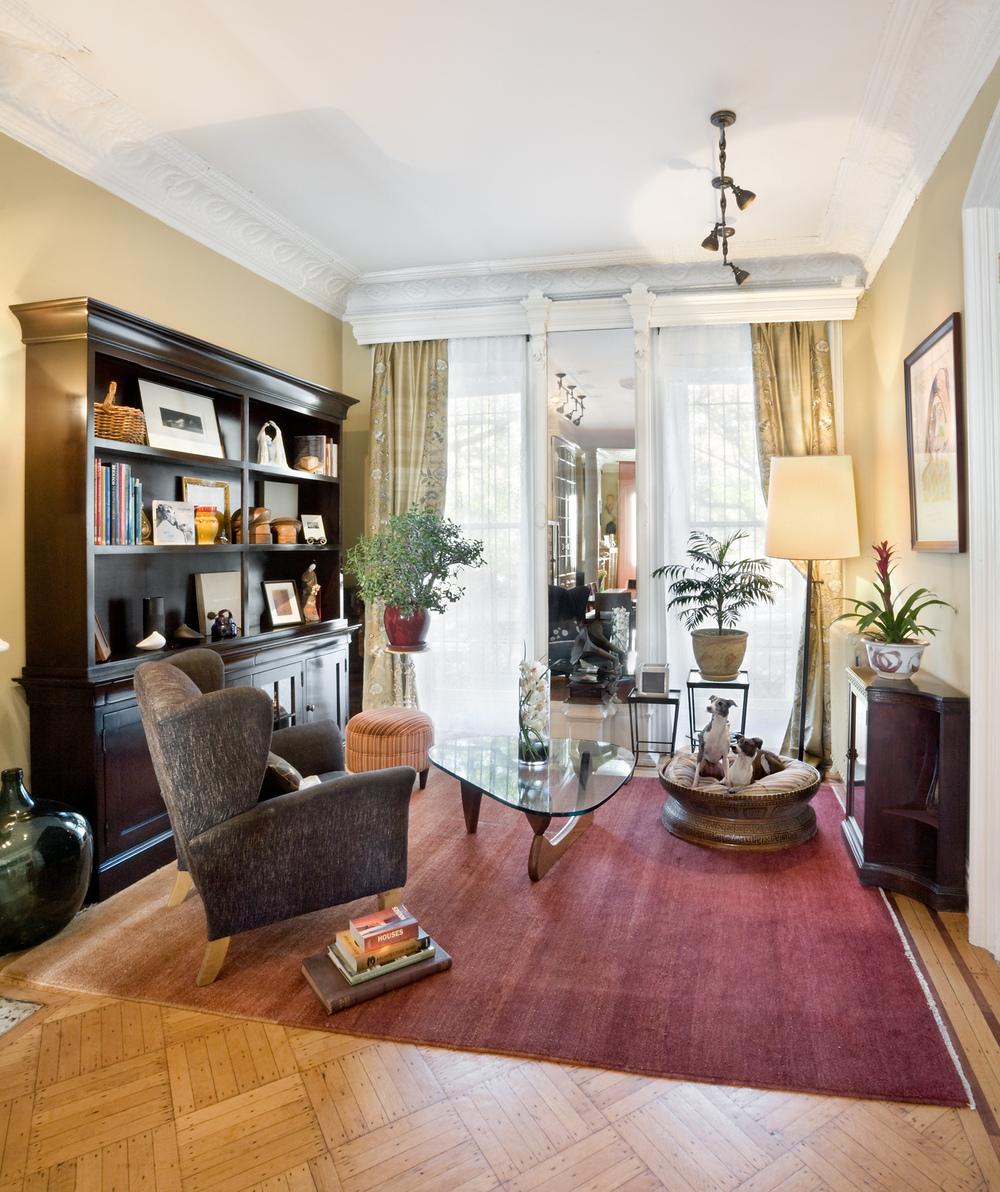 historic brownstone residence design interior design firm new
