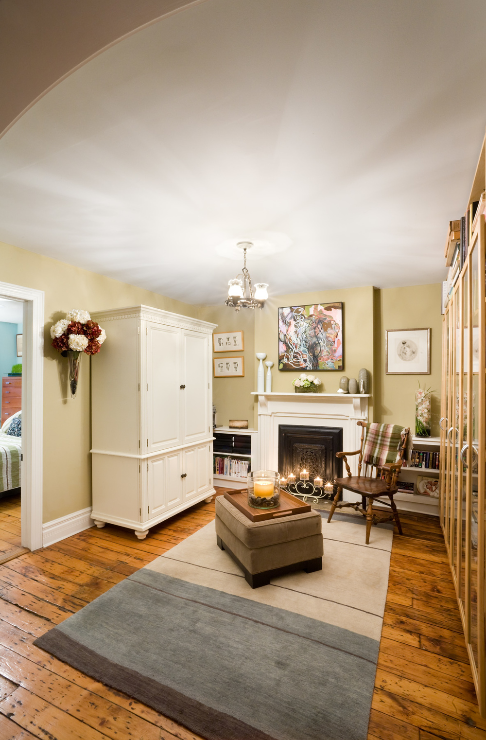 Historic Brownstone Residence. Tobin Parnes Design. Brooklyn, NY. Residential. Lounge.