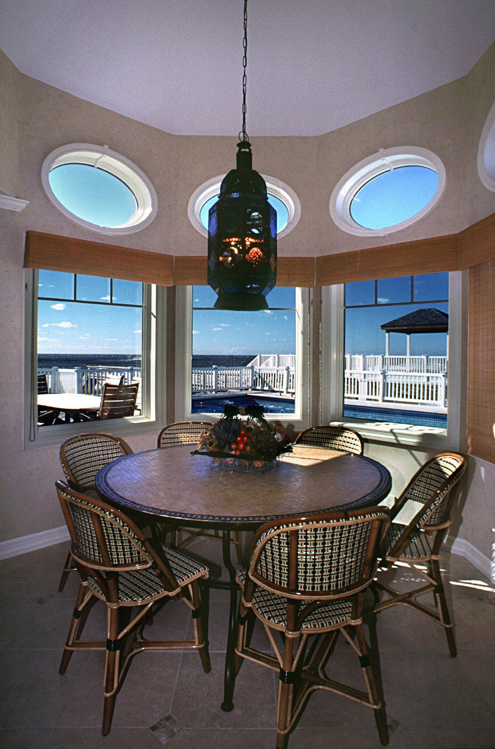 Beach House. Tobin Parnes Design. Residential. Dining Area.