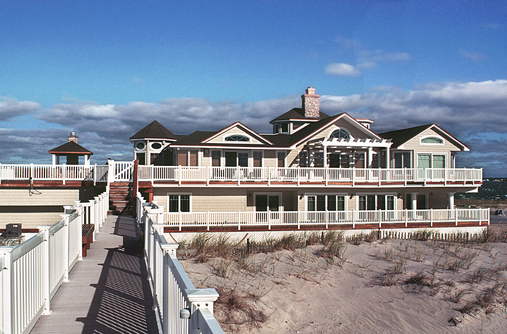 Beach House. Tobin Parnes Design. Residential. Exterior View.