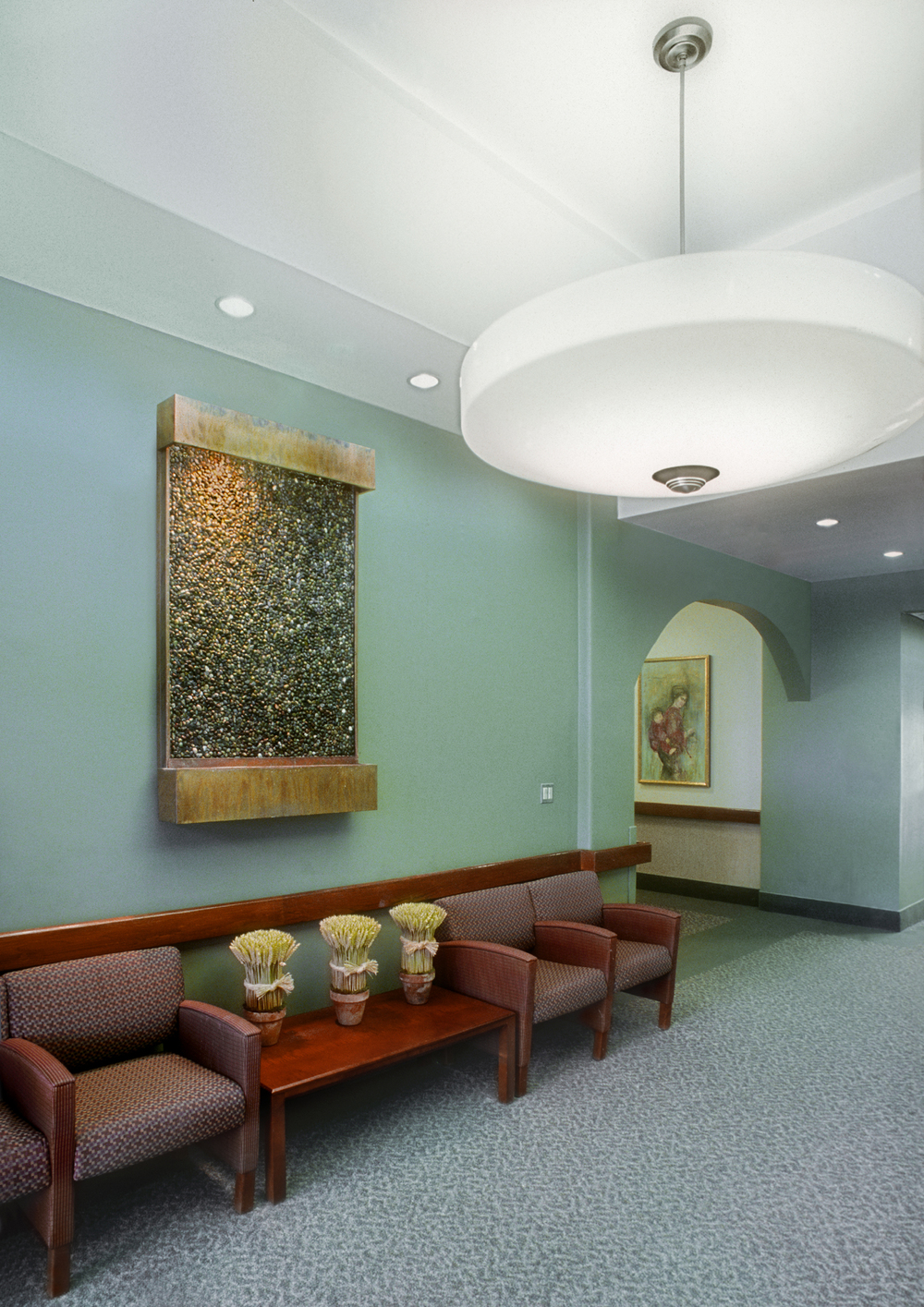 Hebrew Home for the Aged. Tobin Parnes Design. NY. Healthcare Design. Lounge.