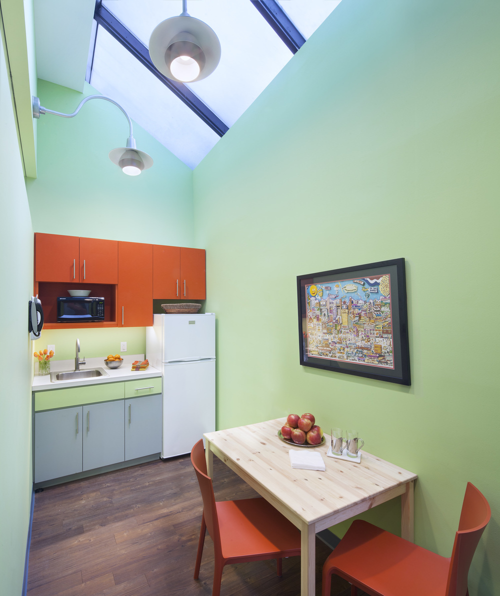 Flatiron Pediatrics. Tobin Parnes Design. NYC. Healthcare Design. Pantry.