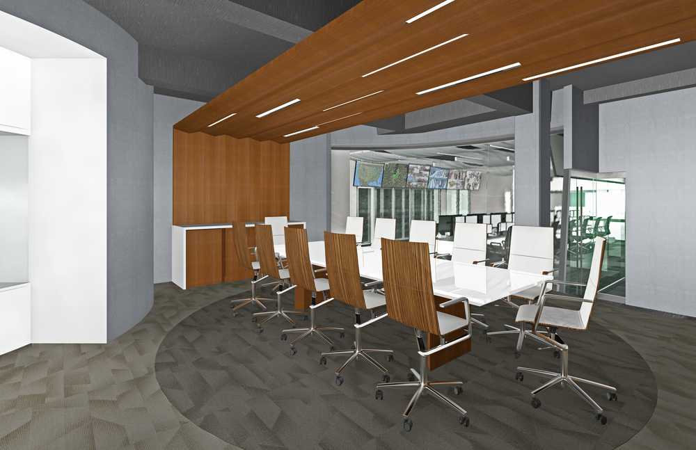 DGA Security Monitoring. Tobin Parnes Design. Ideas and Concepts. Conference Room.