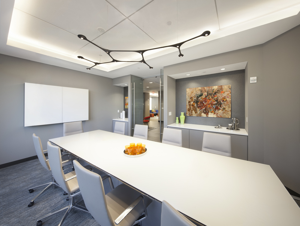 Tobin Parnes Design. NYC. Workplace. Conference Room Design