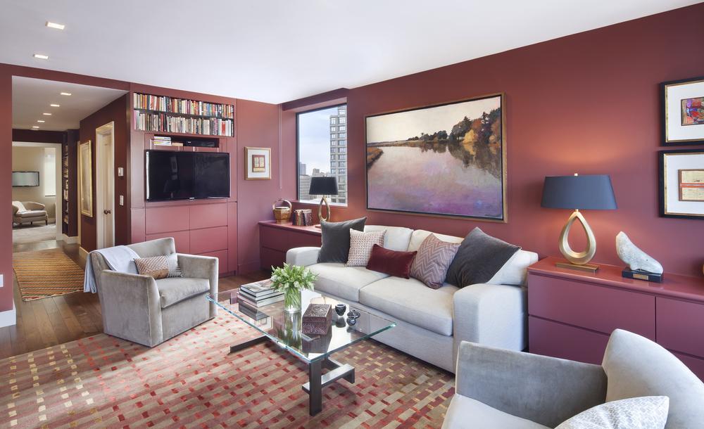 Private Residence. Tobin Parnes Design. New York. Residential. Ling Room.