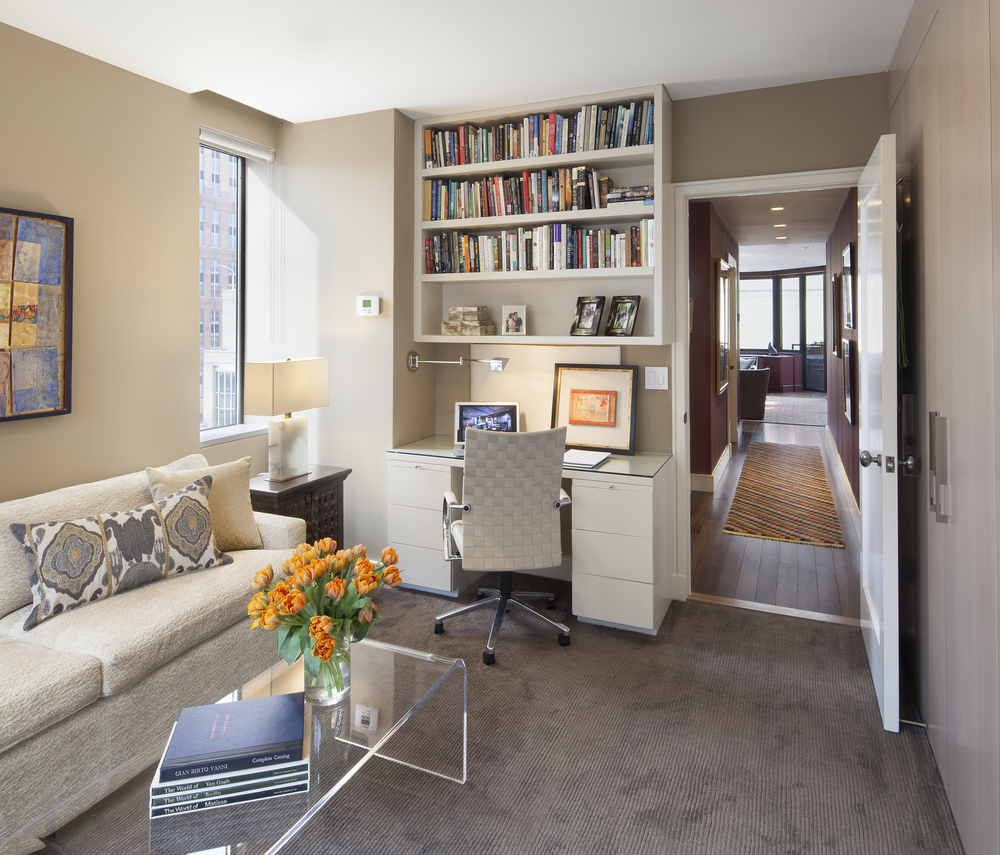 Private Residence. Tobin Parnes Design. New York. Residential. Lounge.