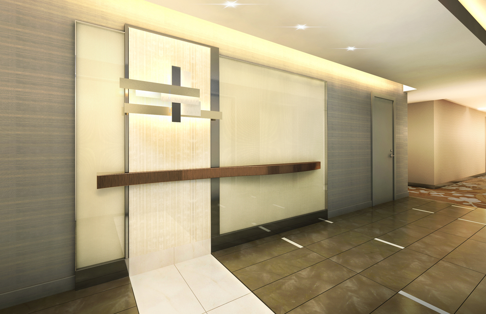 Residential Design Concept. Tobin Parnes Design. Ideas and Concepts. Corridor View.