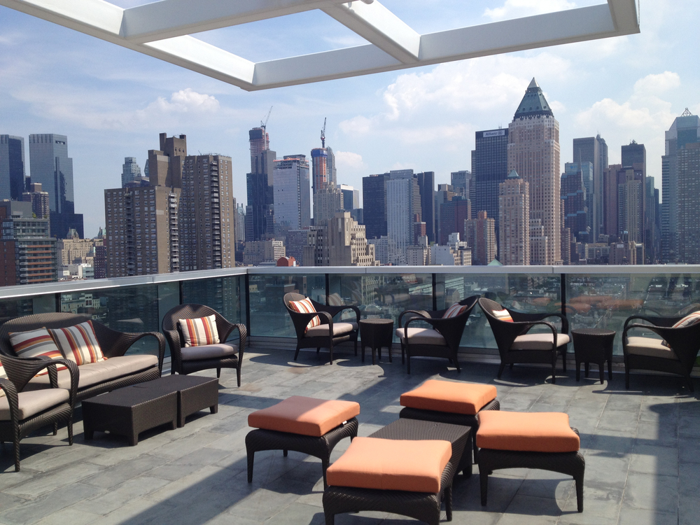 Ink 48 A Kimpton Hotel. Tobin Parnes Design. Hospitality Design. Hotel. Rooftop Lounge.