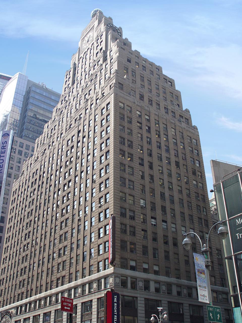Times Square Hotel Concept. Tobin Parnes Design. NYC. Hospitality Design. Exterior.