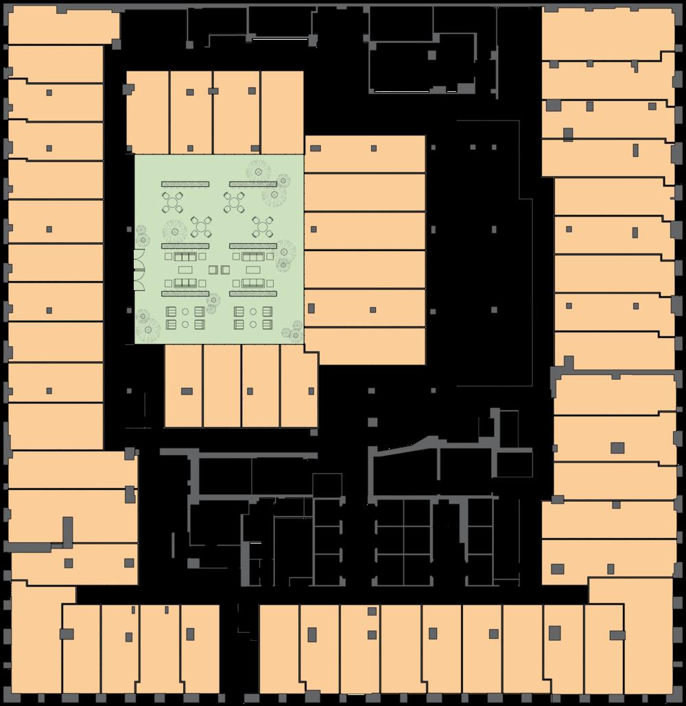 Times Square Hotel Concept. Tobin Parnes Design. NYC. Hospitality Design. Floor Plan.