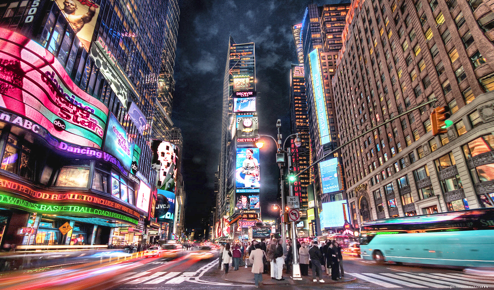 Times Square Hotel Concept. Tobin Parnes Design. NYC. Hospitality Design. Street View.
