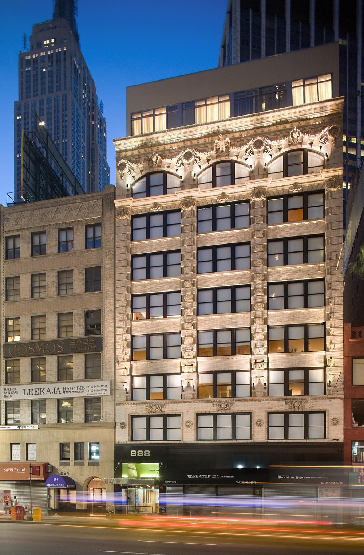 Tobin Parnes Design. NYC. Hospitality Design. Exterior.