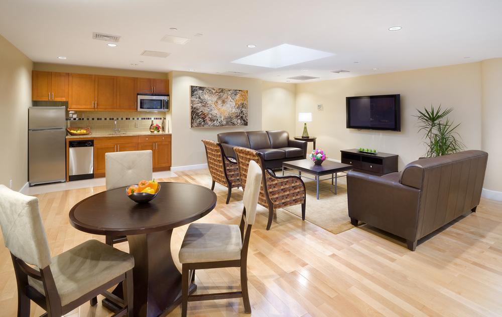 Tobin Parnes Design. NYC. Hospitality Design. Private Suite.