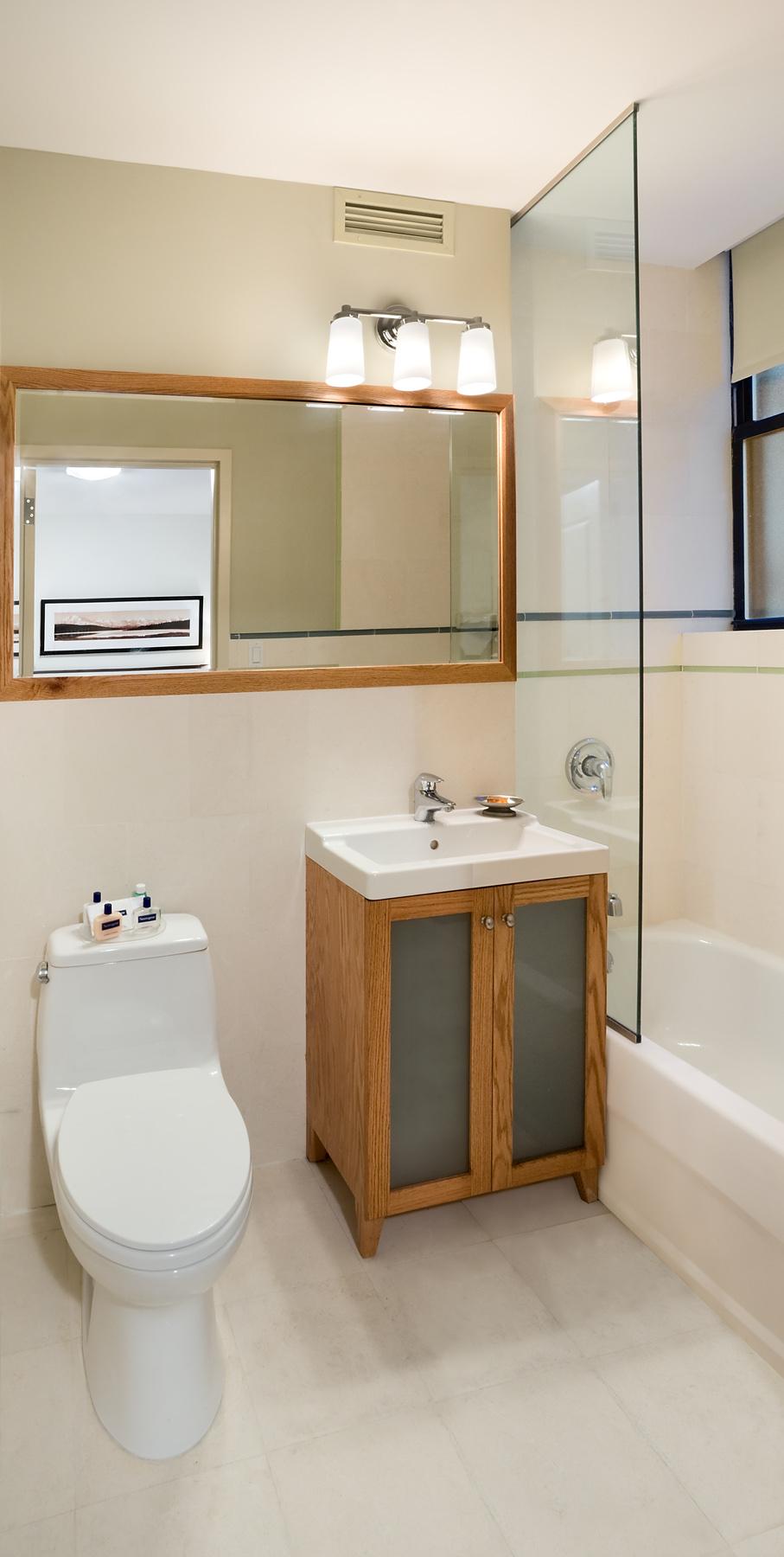 Tobin Parnes Design. NYC. Hospitality Design. Private Bath.