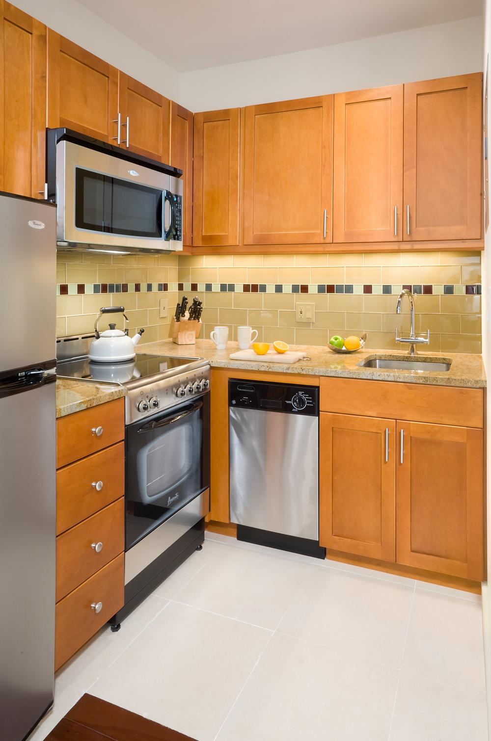 Tobin Parnes Design. NYC. Hospitality Design. Private Kitchen Area.