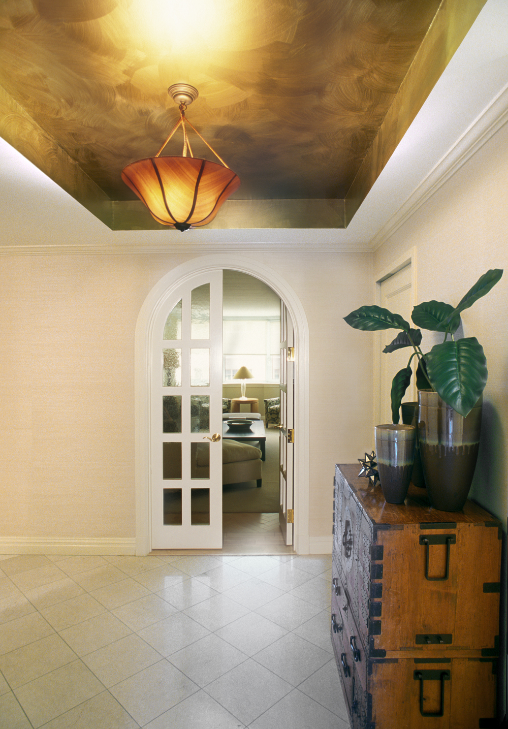 Private Residence. Tobin Parnes Design. Residential. Entry Foyer.