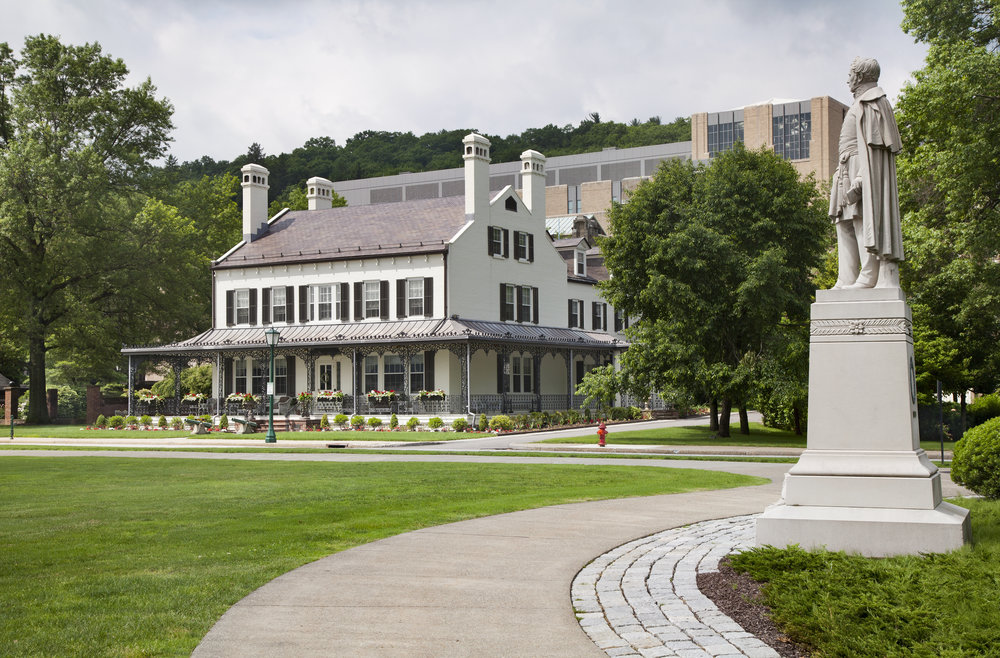 Q100 Thayer Museum at USMA West Point. Tobin Parnes Design. West Point, NY. Cultural and Institutional. Historic Preservation. Courtyard View.