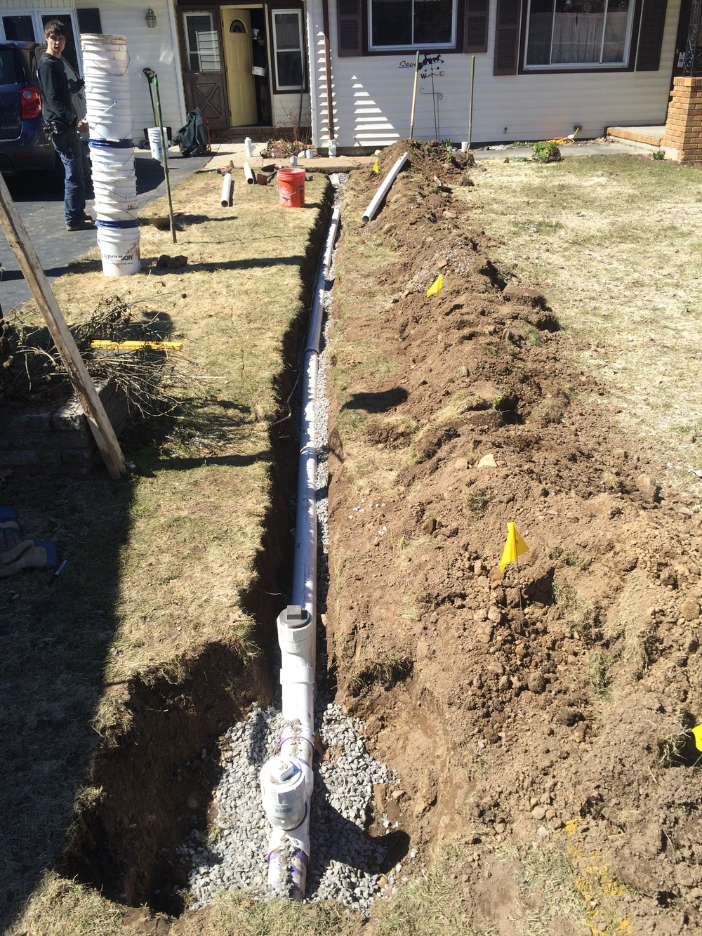 Storm drain replacement - Rochester, NY