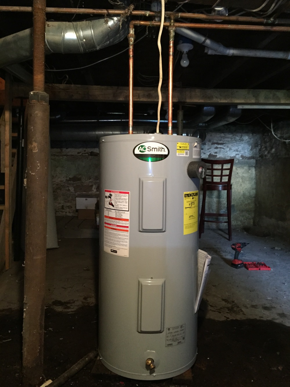 AO Smith - Electric Water Heater