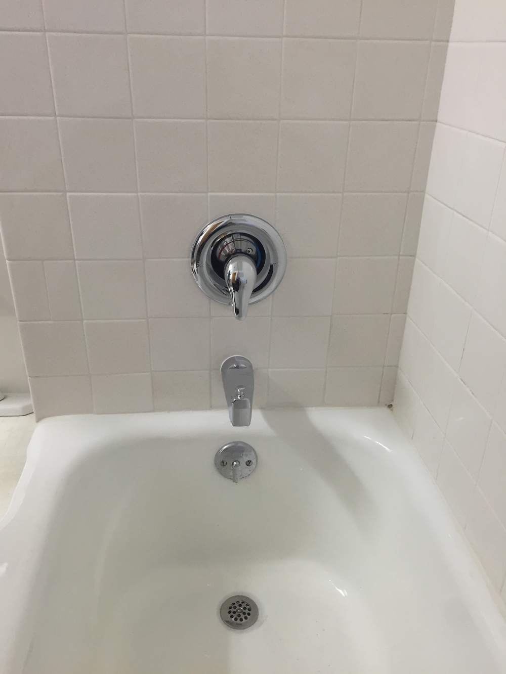 Shower valve after.