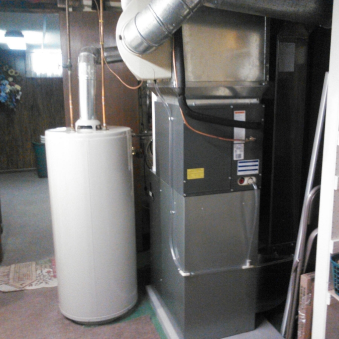 Amana furnace and air conditioner coil in Gates, NY