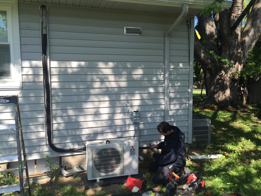 Mr. Slim ductless air conditioner in Greece, NY