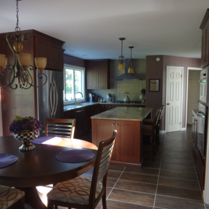 beautiful new kitchen remodel in greece ny - Kitchen Design Greece