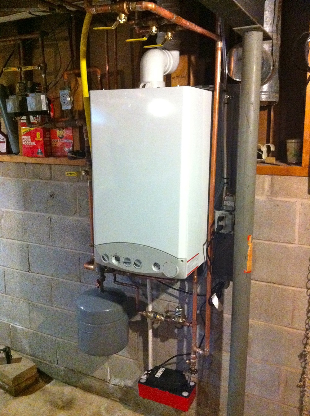 Navien Combination Boiler & Water Heater, Hamlin, NY