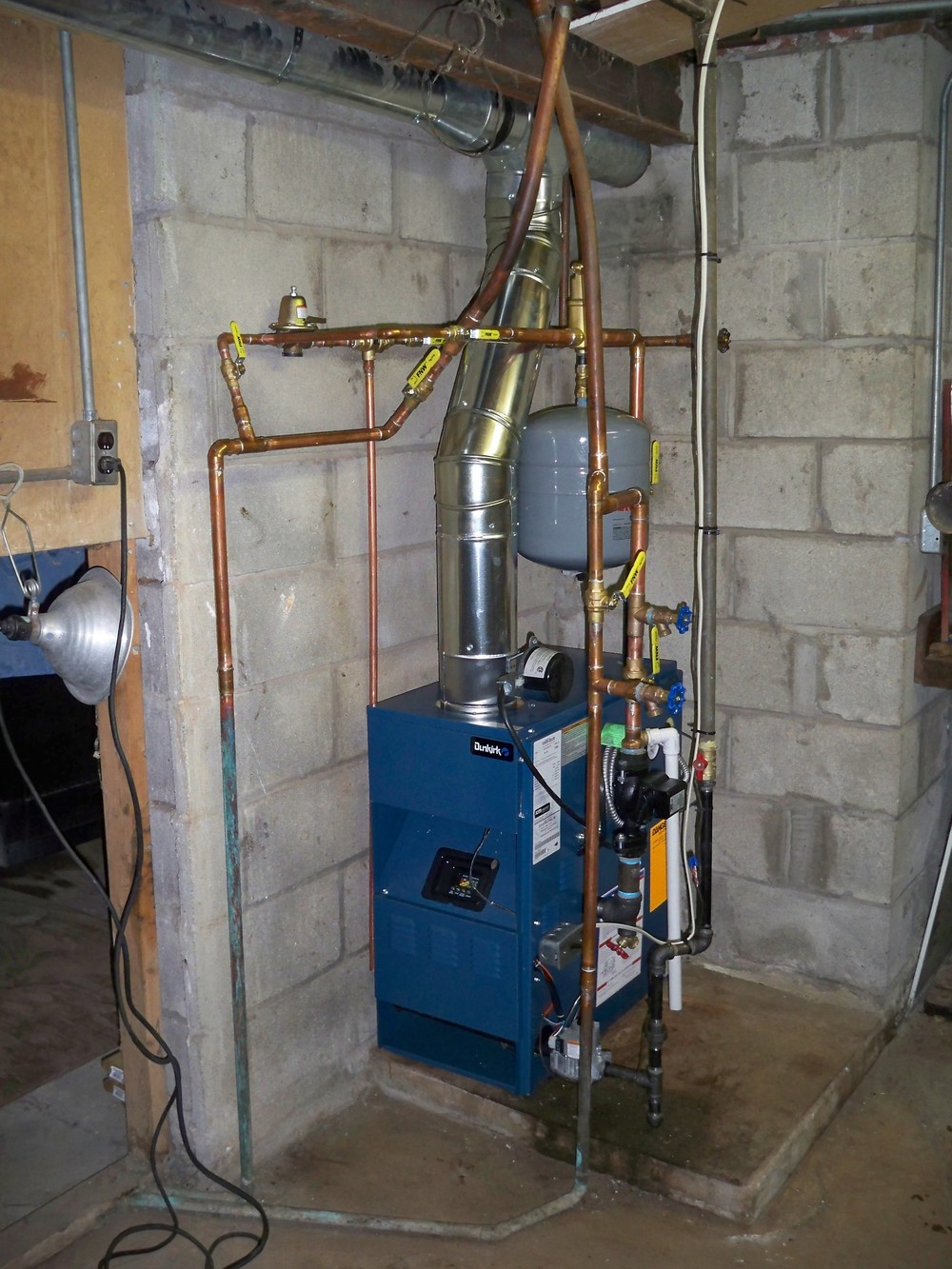 Dunkirk boiler installed in Greece, NY