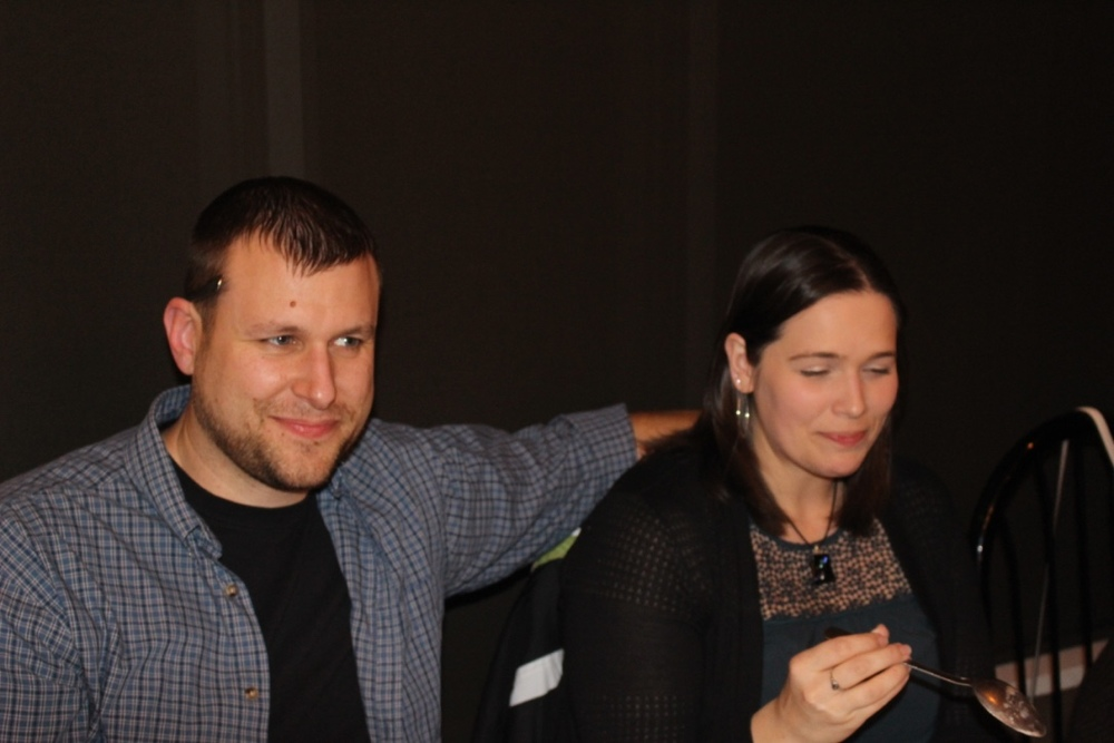 Josh and Melanie Lavey