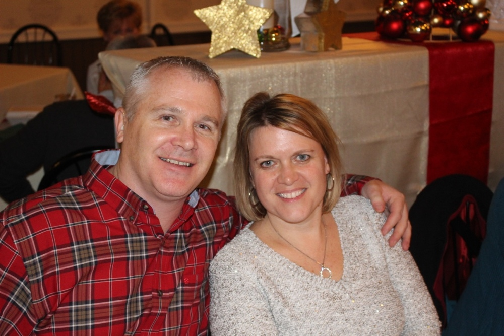 Dennis Nothnagle and his Wife.  Dennis is one of our Kitchen & Bathroom Designers.