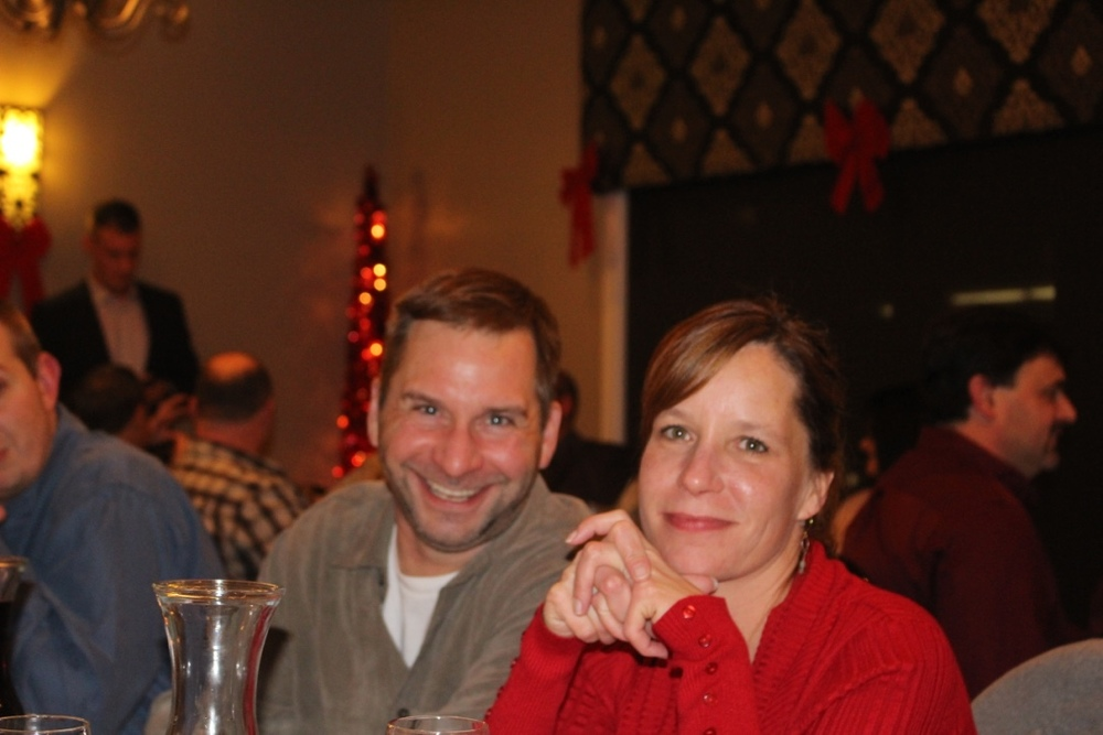 Sue, our Service Dispatcher and her guest, Jeff.