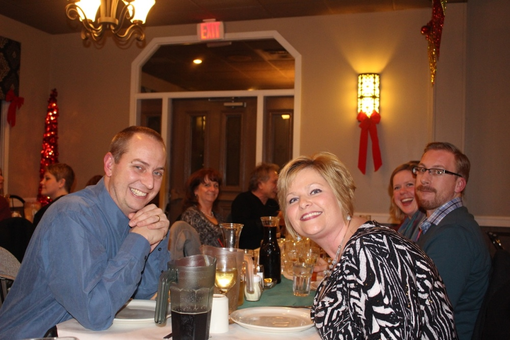 Donna and John Keirstead.  Donna is our Sales Coordinator.