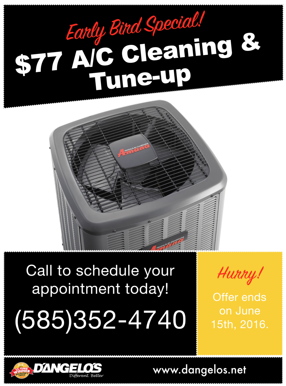 Air conditioning special 2016