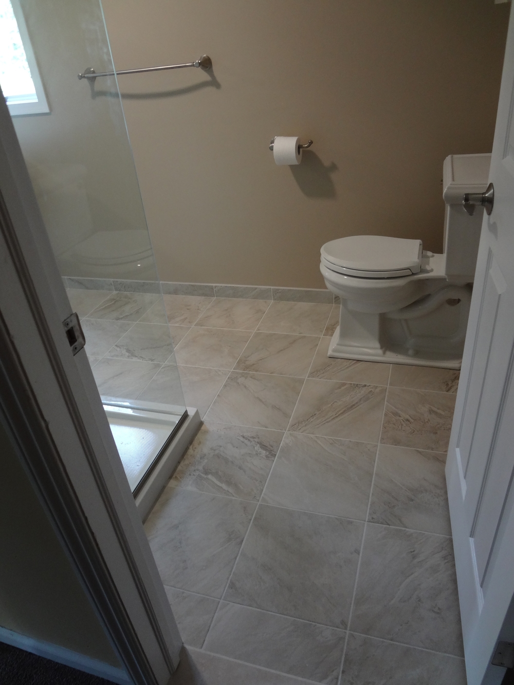 another awesome bathroom remodel! - rochester, ny — d'angelo's