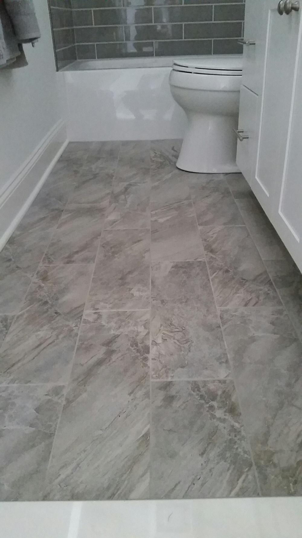 Kargo ceramic tile flooring.