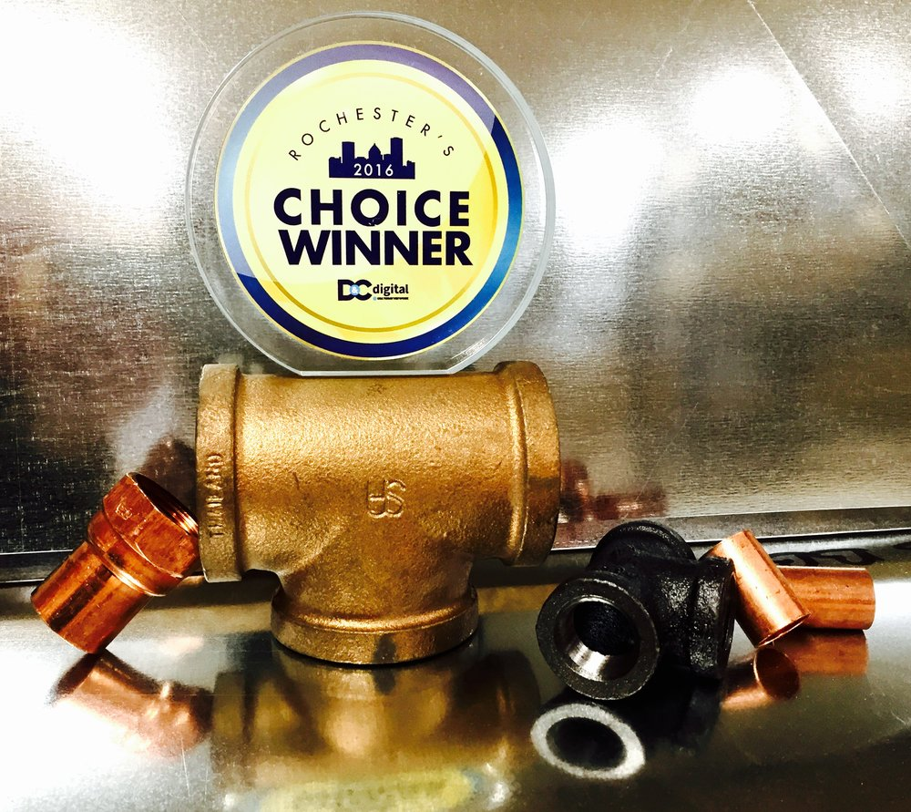 2016 Rochester's Choice Award Winner for Plumbing