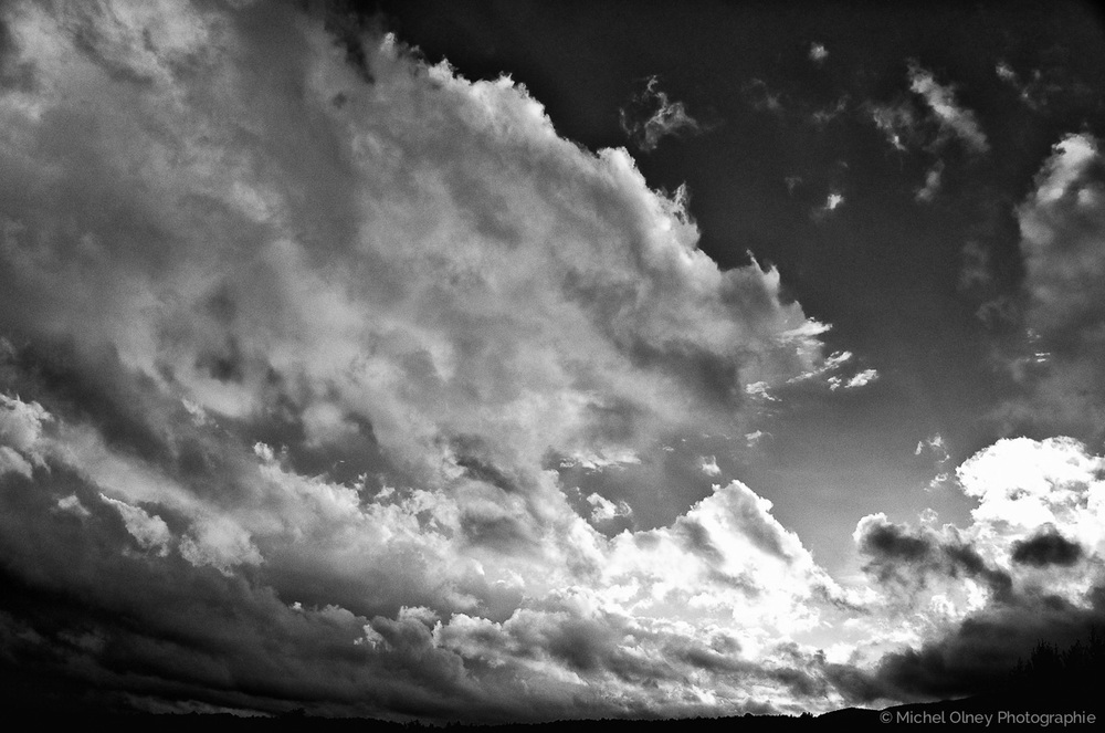 Clouds over Orford OLNEY Photographe Sherbrooke
