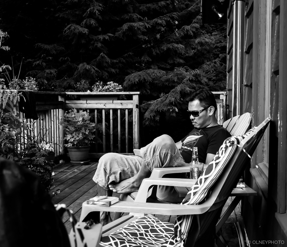 Relaxing on the porch OLNEY Photographe Sherbrooke