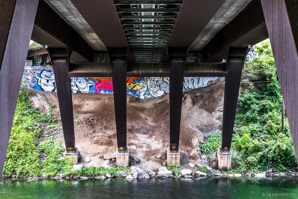 Under yet another bridge in Sherbrooke OLNEY Photographe