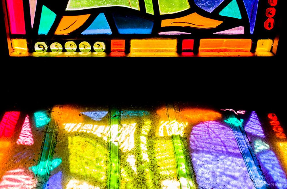 Window sill in chapel OLNEY Photographe Sherbrooke