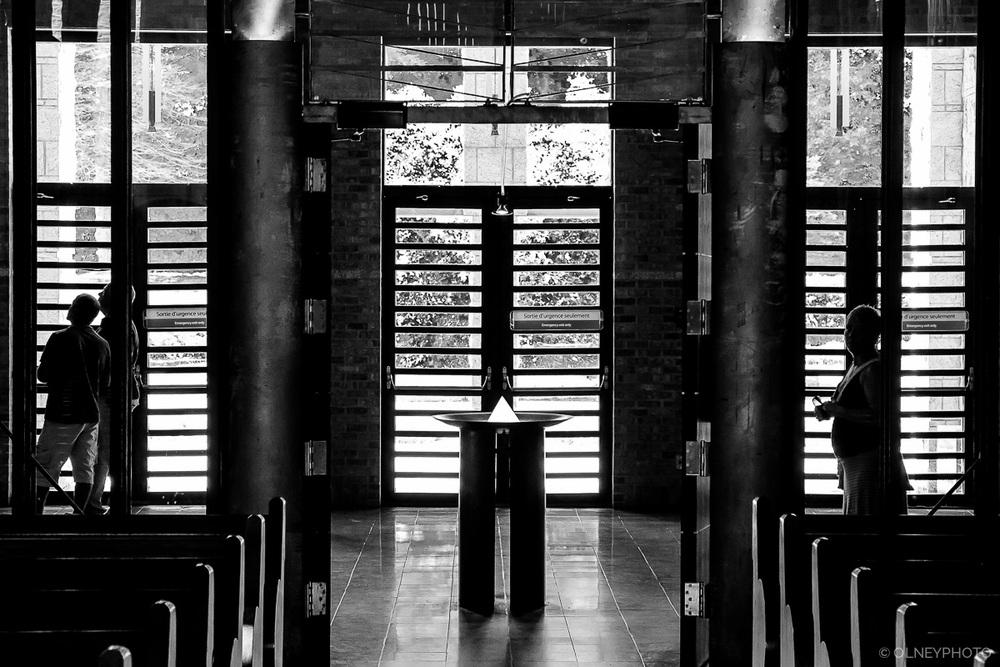 Abbey church hallway OLNEY Photographe Sherbrooke
