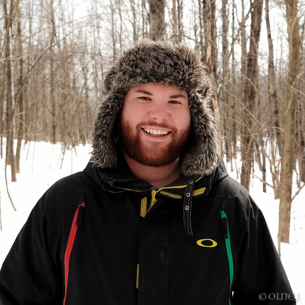 Portrait d'un jeune homme au Bois Beckett à Sherbrooke QC olney photographe sherbrooke