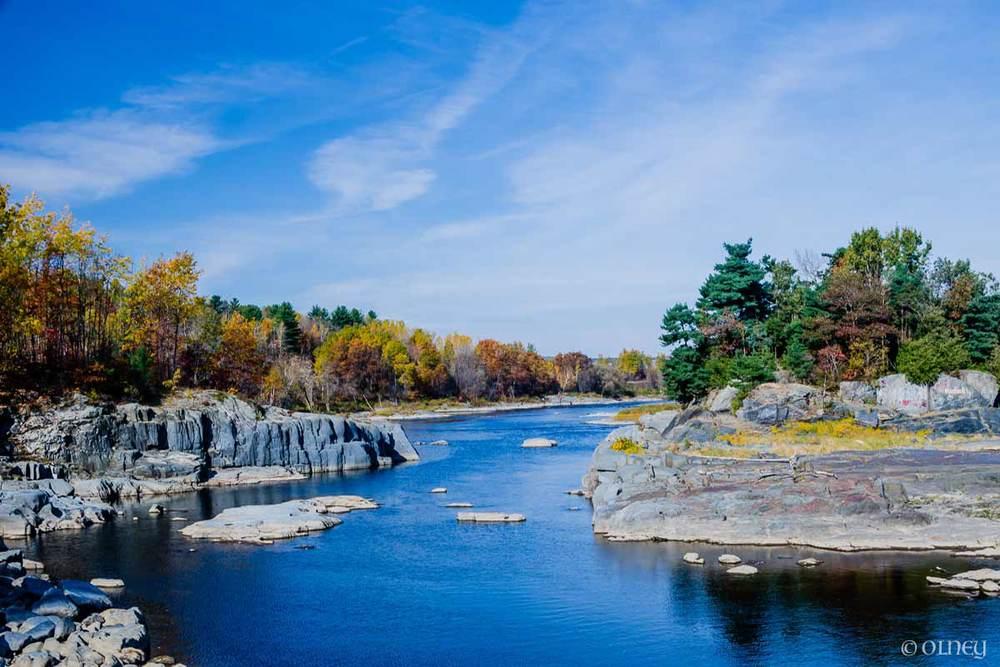 Rivière Saint-François à Sherbrooke QC OLNEY Photographe