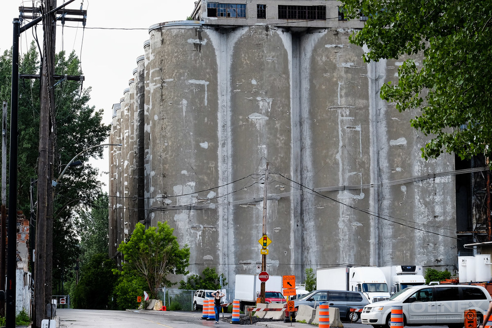 OLNEY-Another view of the old port silos street photography olney photographe sherbrooke